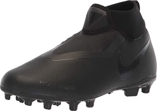 Nike Unisex-Kinder Jr. Phntom Vision Academy Dynamic Fit MG Fußballschuhe, Schwarz Black 001, 36.5 EU (Nike Fussball-kinder-schuhe)