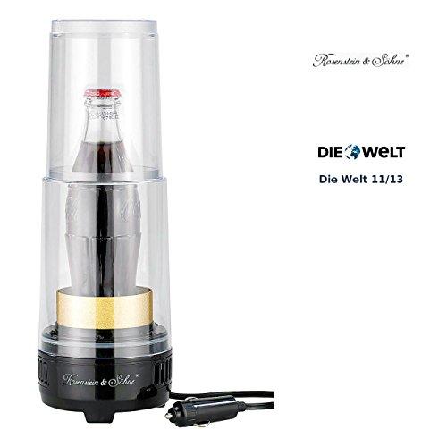 Rosenstein & Söhne Dosenkühler elektrisch: Thermoelektrischer Getränke-Wärmer & -Kühler TWK125 (Getränkewärmer)