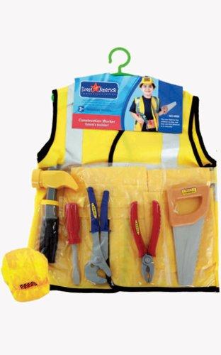 Dress Up America Kinder Bauarbeiter Rollenspiel Ankleiden ()