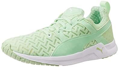 Puma Women's Pulse XT PWRCOOL Wn s Patina Green Mesh Running Shoes - 8 UK/India (42 EU)