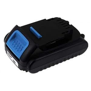Batterie rechargeable pour Dewalt type XR-Batterie rechargeable DCB 181