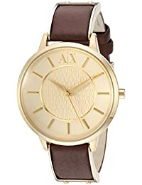 Armani Exchange Analog Gold Dial Women's Watch - AX5310