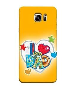 Fuson Designer Back Case Cover for Samsung Galaxy Note 5 :: Samsung Galaxy Note 5 N920G :: Samsung Galaxy Note5 N920T N920A N920I (Beloved Dad Father Love You Dad )