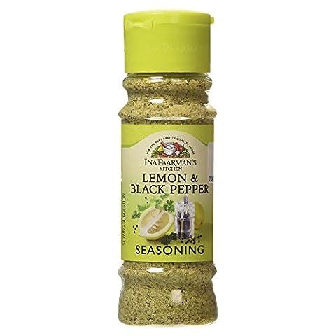 Ina Paarman Lemon and Black Pepper Seasoning, 200ml