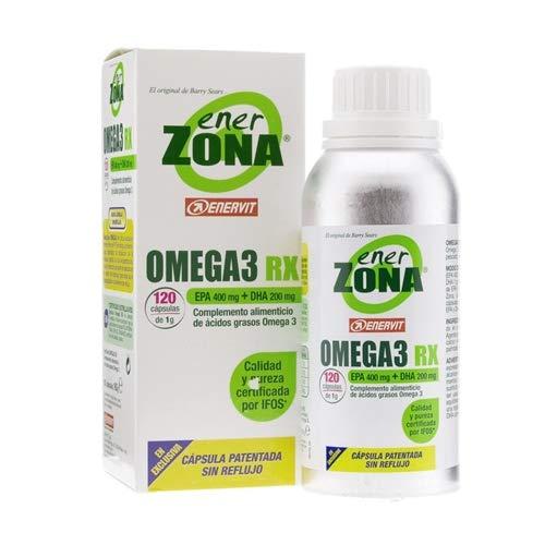 Omega 3 Rx Ener Zona 120 Cápsulas 1000 mg de Enerzona