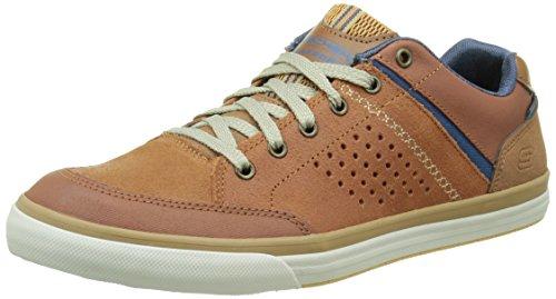 skechers-mens-diamondback-rendol-low-top-sneakers-brown-size-7-uk