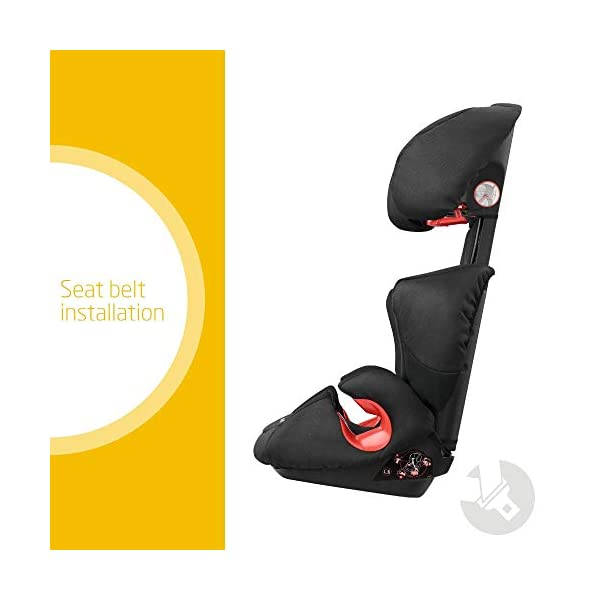 Maxi-Cosi Rodi XP2 Group 2/3 Car Seat, Night Black Maxi-Cosi Forward facing group 2/3 car seat suitable for children from 15 to 36 kg (approx. 3.5 to 12 years) Optimal side crash protection for head, lower back and hips Backrest grows along with your child in both length and width 2