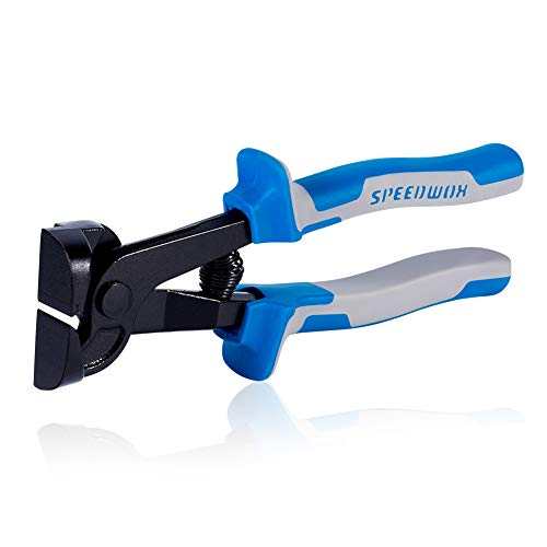SPEEDWOX Glass Tile Nipper 8 Inch Glass Cutters for Quickly Cutting Porcelain Mosaic...