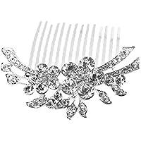 Rosenice peinecillo de novia, con Perlas de Cristal, accesorios para el pelo