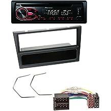 Pioneer CD MP3USB AUX Radio de coche para Opel Corsa C, Combo, Meriva, Omega B, Vectra C ISO Negro