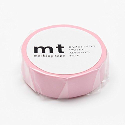 MT Feststoffe Washi Papier Masker Tape: 3/12,7cm x33', Rose Pink (mt01p185)