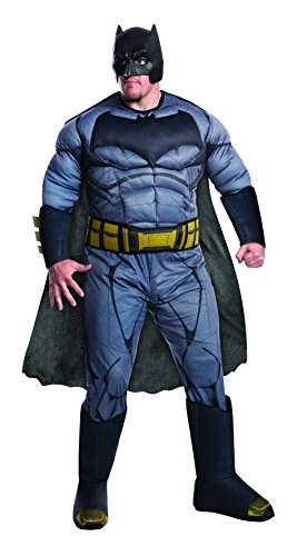Dawn Of Justice Batman Deluxe Adult Costume (Superman Size Deluxe Kostüme Plus)