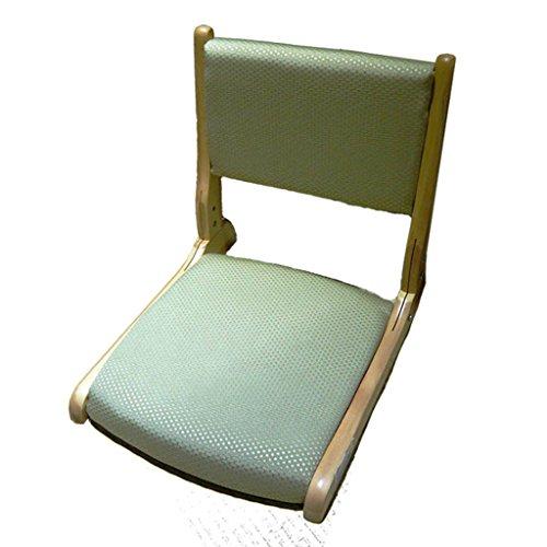 C&L Im Japanischen Stil Ohne Beine Stuhl, Natürliche Materialien Zusammenklappbar Einzigen Stuhl (Farbe : B)