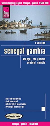 Senegal, Gambia : 1/550 000 par Reise Know-How