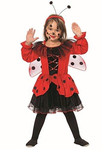 Marienkäfer Kostüm mit Flügeln Marien Käfer für Kinder (Käfer Flügel Kostüm)
