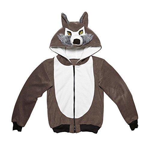 widmann-07016-erwachsenenkostum-wolf-kapuzenpullover-grau-grosse-s-m