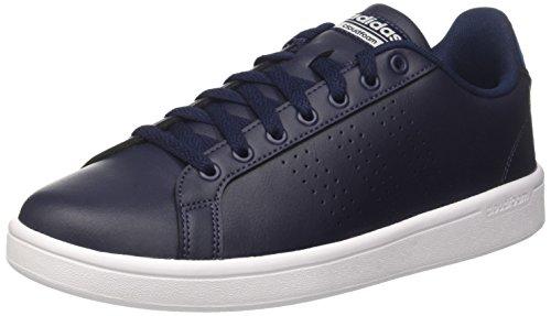 adidas CF Advantage Cl, Scarpe da Ginnastica Basse Uomo, Blu Collegiate Navy/Blue, 41 1/3 EU