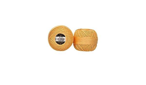 ANCHOR Acnhor Filato per Ricamo Albicocca Chiaro 8 Fili 100/% Cotone 5,1cm x 5,1cm x 4,1cm
