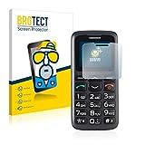 2X BROTECT Matt Bildschirmschutz Schutzfolie für Simvalley Mobile XL-915 V3 (matt - entspiegelt, Kratzfest, schmutzabweisend)