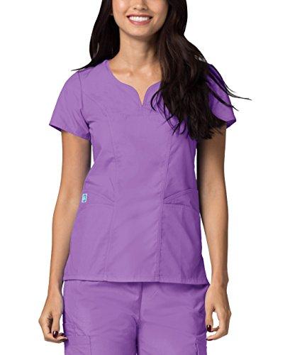 Medizinische Uniformen Frauen Top Krankenschwester Krankenhaus Berufskleidung 2632 Farbe: Lav | Größe: XL