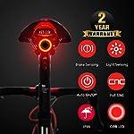 41a6NWb3FGL. SS150 Nestling Luce LED per Bici,1800 Lumens Luci per Bicicletta USB Ricaricabili con Luce ausiliaria, Impermeabile Luci per…