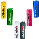 Elektro-Feuerzeug 6 verschiedene Farben mit 4-farb Logodruck - Fotodruck - Werbung - Giveaway, Feuerzeug Druckseite:r) 10000 Stück beidseitig