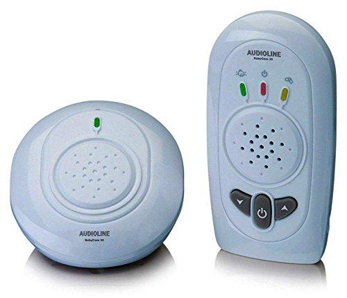 Audioline 900489 Baby Care 33-Babyphon mit digitaler Funkübertragung