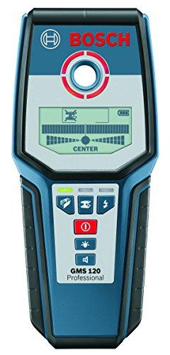 Bosch Professional Rilevatore Digitale GMS 120, Profondità di Rilevamento Max. Acciaio/Rame/Cavi 120/80/50 mm