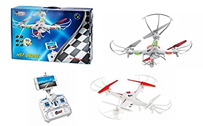 HST 605 Sky High WiFi Air Drone Quadcopter Camera Gyro USB Camera from Hot Stuff Toys - HST