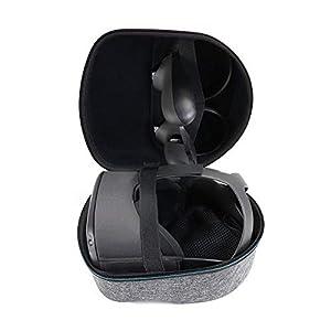 KT-CASE Oculus Quest Case Oculus Quest All-in-one VR Gaming Headset Aufbewahrungsbox Reisetasche Black case