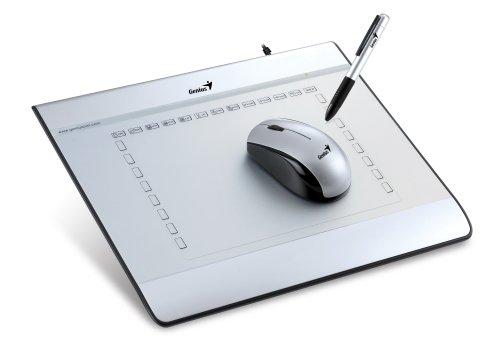 Genius MousePen i608 2540líneas por pulgada 150 x 200mm USB tableta digitalizadora - Tableta gráfica (Alámbrico, 150 x 200 mm, USB, 100 pps, AAA, 600 g)