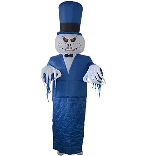 LOVEPET Halloween Geist Tragen Inflatables Kostüm Parodie Ganze Person Party Halloween Geist Dress Up Bar Spukhaus Kostüm Requisiten Maskerade Requisiten (Geist Tragen Halloween-kostüme)