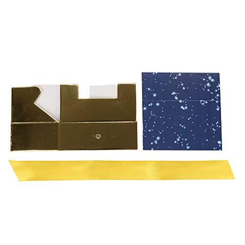 MA87 Süßigkeiten Geschenke Boxen Romantische Sternenhochzeits-Party-Baby-Dusche begünstigt 20 Stück (20 Stiefel Dollar Für)