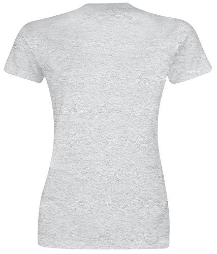 Alice im Wunderland Grinsekatze - I'm Not Crazy Girl-Shirt Grau Meliert Grau Meliert