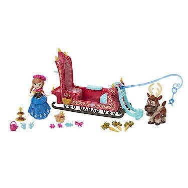 Hasbro B5196 - Disney Die Eiskönigin - Little Kingdom - Kleines Spielset - Abenteuerliche Schlittenfahrt [UK Import]