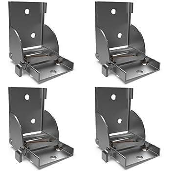 4 x so tech klapptischbeschlag klappbeschlag klappkonsole f r tischbeine 38 x 38 mm. Black Bedroom Furniture Sets. Home Design Ideas