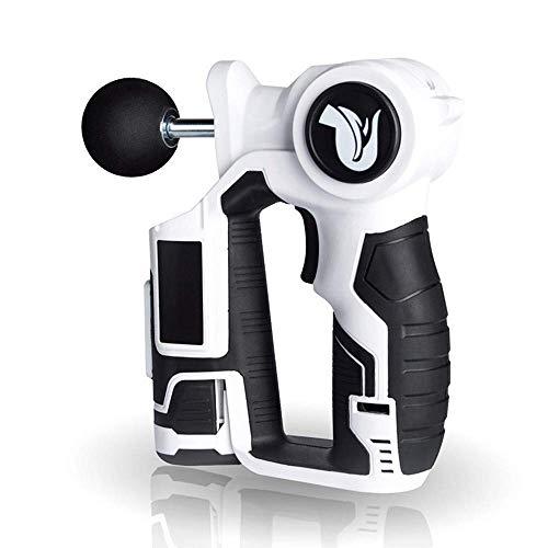 AMJFB Cordless Tiefengewebe Muskelmassager - Massage Pistole/Muskel Massagegerät,Vibration Fascia Impact Gun Wiederaufladbares Massagegerät mit Einstellbarer 6-Gang-Variation -