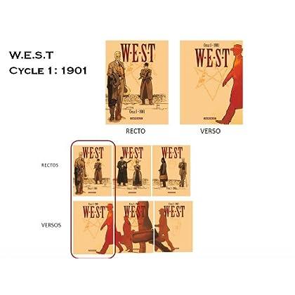 West, Cycle 1 : Coffret 1901 : Tome 1 : La chute de Babylone ; Tome 2 : Century Club