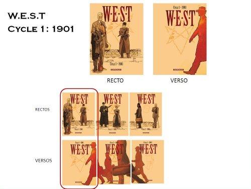 West, Cycle 1 : Coffret 1901 : Tome 1 : La chute de Babylone ; Tome 2 : Century Club par Xavier Dorison