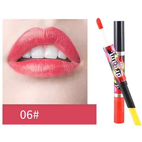 Lippenstift,Förderung,PorLous 2019 Neu Schönheit Dauerhafter Wasserdichter Lip-Liner-Stick-Bleistift 6 Farben Feuchtigkeitsspendend Dauerhaft 6