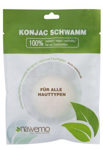 Éponge Konjac Pur, pour tous les types de peau
