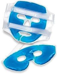 Health and Wellness SP4550 - Antifaz y máscara de gel frio-calor facial