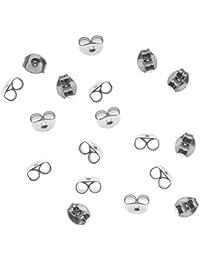 Beadaholique - Lote de topes para pendientes a presión (tamaño medio, 5mm, 12 unidades)