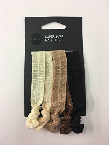 2x 5Stück Haar Bänder Bands Pferdeschwanz Inhaber Weich Elastisch Knoten Dehnbar Handgelenk (2 Pferdeschwanz Inhaber)