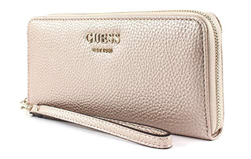 Guess Vikky SLG Large Zip Around Pale Bronze