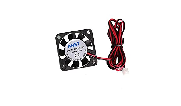 12V Cooling Fan 40mm 4010s For CPU GPU RepRap 3D Printer Extruder Tw