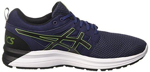 Asics Gel-Torrance, Chaussures de Running Homme Bleu (Indigo Blue/Black/Energy Green)