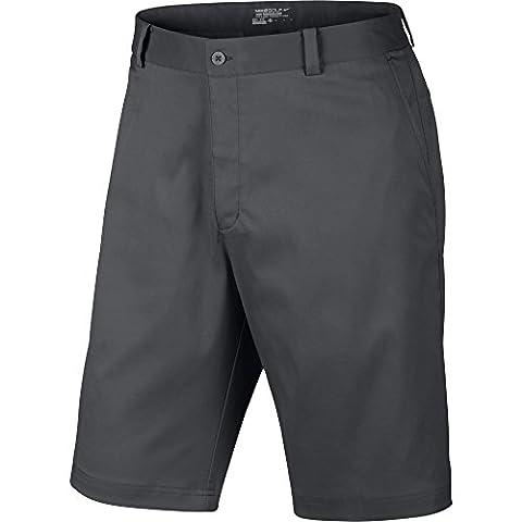 Nike Flat Front Short Pantalon pour homme, gris foncé, 33