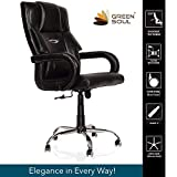 Green Soul Barcelona High Back Office Chair (Black)