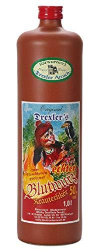 Original Drexler's echter Blutwurz 50% vol. (1 x 1.0l.)